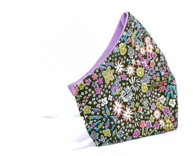 Mascarilla de tela Liberty floral
